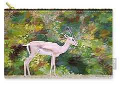 Carry-all Pouch featuring the painting African Endangered Species by Judy Kay