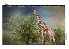 African Giraffe Carry-all Pouch