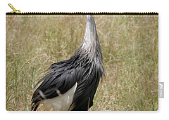 African Grey Crowned Crane Carry-all Pouch