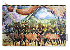 African Herdsmen Carry-all Pouch