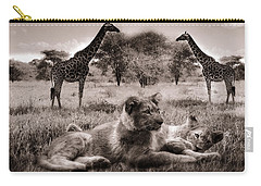 African Life Carry-all Pouch