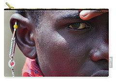 African Maasai Warrior Carry-all Pouch