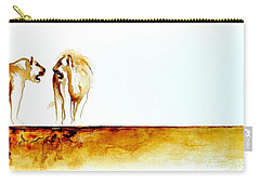 African Marriage - Original Artwork Carry-all Pouch