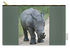 African Rhino Carry-all Pouch