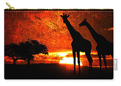 African Safari Carry-all Pouch by Richard Farrington
