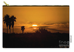 African Style Sunset Carry-all Pouch