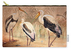 African Tantalus Pseudotantalus Ibis Carry-all Pouch