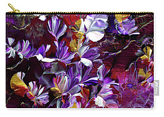 African Violet Awake #4 Carry-all Pouch