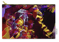 African Violet Awake Carry-all Pouch