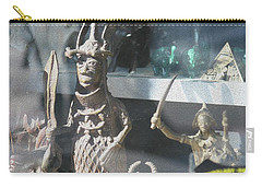 African Warrior Figurine Carry-all Pouch