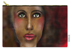 Afro Lady Carry-all Pouch