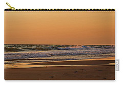 After A Sunset Carry-all Pouch by Sandy Keeton