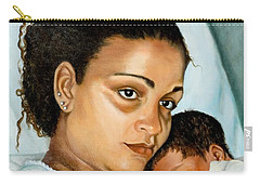 After Birth Jacina And Javon Carry-all Pouch by Marlene Book