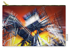 Carry-all Pouch featuring the photograph After Effect by Wayne Sherriff