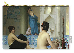 After The Bath, Jean Leon Gerome Carry-all Pouch