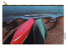 Carry-all Pouch featuring the painting After The Crossing by Kenneth M Kirsch