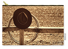 After The Drive Carry-all Pouch by American West Legend By Olivier Le Queinec