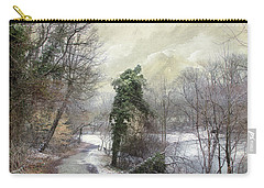 After The First Snowfall Carry-all Pouch by John Rivera