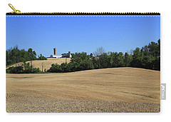 Carry-all Pouch featuring the photograph After The Harvest by Gary Hall