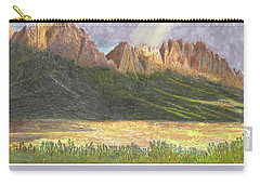 After The Monsoon Organ Mountains Carry-all Pouch by Jack Pumphrey