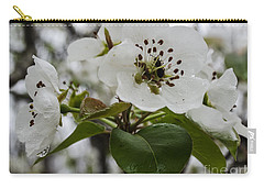 Carry-all Pouch featuring the photograph After The Rain  2 by Donna Brown