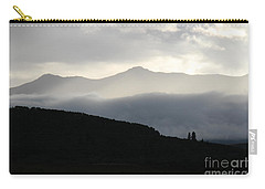 Carry-all Pouch featuring the photograph The Quiet Spirits by Ann E Robson