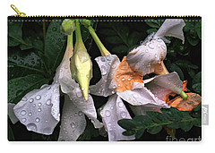 After The Rain - Flower Photography Carry-all Pouch