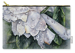 After The Rain-gardenia Carry-all Pouch