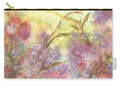After The Rain - May Flowers Carry-all Pouch by Janine Riley