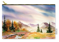 Carry-all Pouch featuring the painting After The Rain by Teresa Ascone