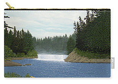 After The Rapids Carry-all Pouch by Kenneth M  Kirsch
