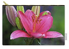 After The Shower Carry-all Pouch by Judy Johnson