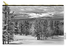 After The Snow  Carry-all Pouch by Betty Pauwels