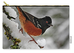 After The Snow Storm 365-293 Carry-all Pouch by Inge Riis McDonald