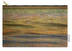 Carry-all Pouch featuring the photograph After The Sunset - Teal Sky by Michelle Calkins