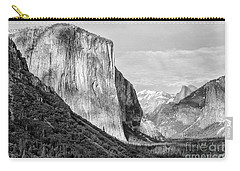 Carry-all Pouch featuring the photograph Afternoon At El Capitan by Sandra Bronstein