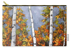 Afternoon Birches Carry-all Pouch