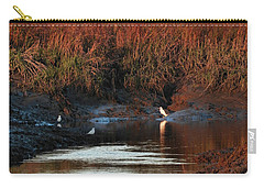 Carry-all Pouch featuring the photograph Afternoon Break by Laura Ragland