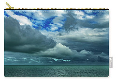 Carry-all Pouch featuring the photograph Afternoon Clouds In Key West, Florida by Bob Slitzan