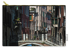 Carry-all Pouch featuring the photograph Afternoon In Venice by Alex Lapidus