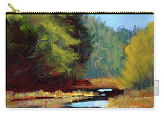 Afternoon On The River Carry-all Pouch