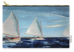 Afternoon Sailers Carry-all Pouch by Trina Teele