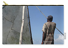 Afternoon Sailing In Africa Carry-all Pouch by Exploramum Exploramum