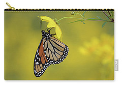 Carry-all Pouch featuring the photograph Afternoon Snack by Ann Bridges