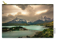 Carry-all Pouch featuring the photograph Afternoon Storm by Andrew Matwijec