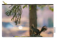Against Brighter Times Carry-all Pouch by Rose-Marie Karlsen
