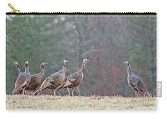 Carry-all Pouch featuring the photograph Against The Crowd 1287 by Michael Peychich