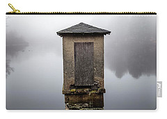 Carry-all Pouch featuring the photograph Against The Fog by Karol Livote