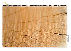Carry-all Pouch featuring the photograph Against The Grain by Christina Rollo