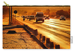 Against The Road Carry-all Pouch by Beto Machado